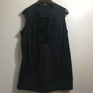 Alfani sleeveless ruffled top. Size 16